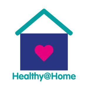 Healthy@Home logo United Welsh